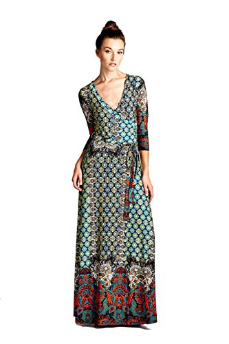 On Trend Paris Dress Bohemian 3/4