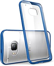 HTC One M9 Case, [Scratch Resistant] i-Blason **Clear** [Halo Series] HTC One Hima M9 Hybrid Bumper Case Cover (Clear/Blue)