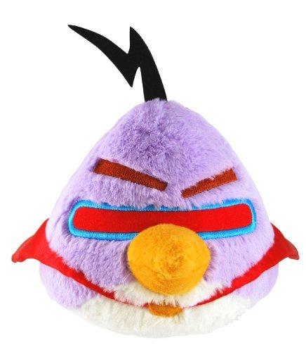 "Angry Birds Space 5"" Basic Plush Lazer Purple Bird"