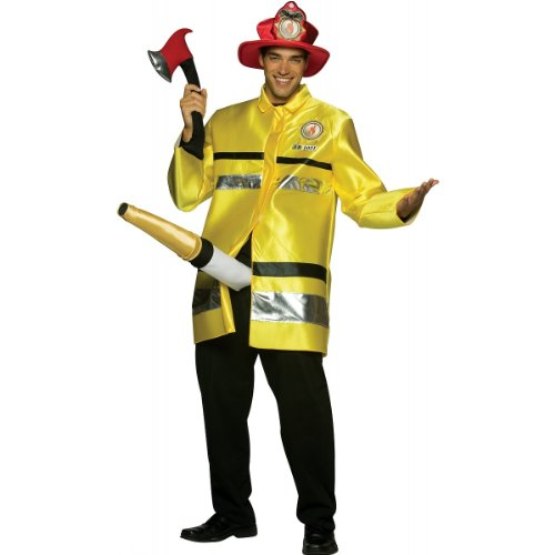 The Fire Extinguisher Adult Costume - One Size