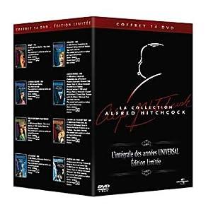 La Collection Alfred Hitchcock - L'intégrale des années Universal - Coffret 14 DVD [Édition Limitée]