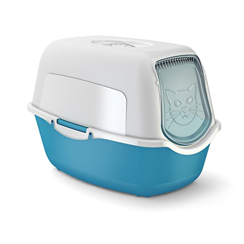 rotho-cat-litter-box-with-cover-and-door-easy-to-clean-litter-box-for-domestic-cats-with-odour-contr