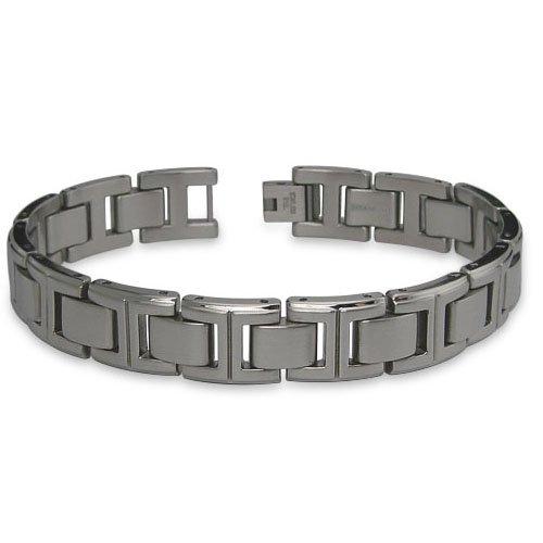 Titanium Men's Link Bracelet (12.5mm Wide) 8.5 Inches