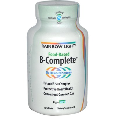 Rainbow Light - Rainbow Light Food-Based B-Complete - 90 Tablets - Pack Of 1