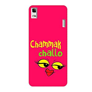 Vibhar printed case back cover for Lenovo A7000 Turbo ChamakChalo