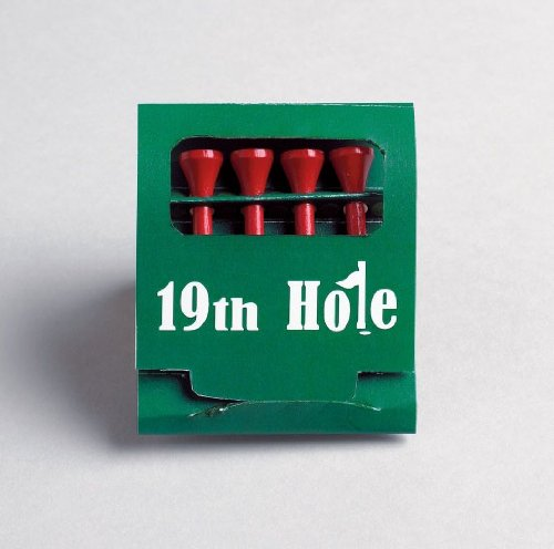 Golf Tee Match Box Play Golf With Match Box Golf Tees 19th Hole 4 Tees Per PK