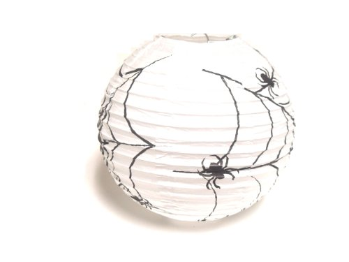 "WeGlow International 8"" Paper Lantern Skeleton (Pack Of 4)"
