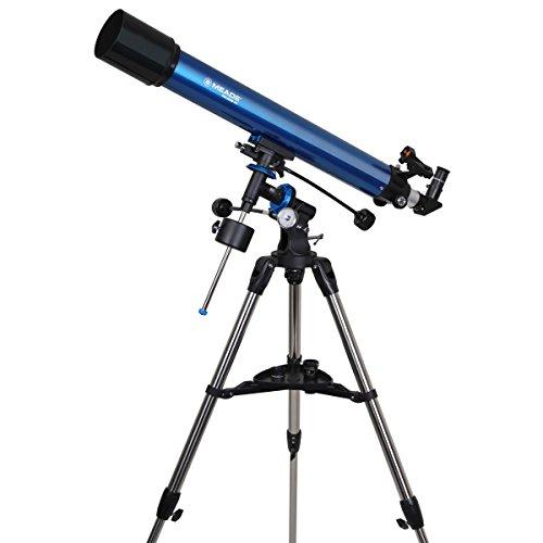 Meade 216003 Polaris 90-Millimeter German Equatorial Refractor (Blue)
