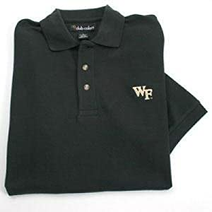 Wake Forest Demon Deacons Demon Deacons Solid Pique Polo by SportShack INC