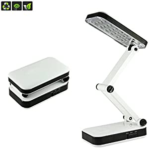 Liying® Creative Flexible LED Foldable Charging Desk Lamp Exclusively Designed for Reading/Working/Bedroom/Baby Room by BXT
