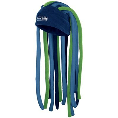 Seattle Seahawks NFL Licensed Reebok Dreadlocks Beanie Hat at Amazon.com