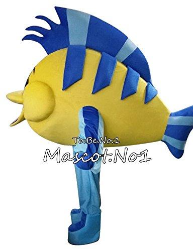 DanFeng Clownfish Mascot Costume Fancy Dress Christmas Halloween Cosplay Printable LOGO ... (Fancy Clownfish)