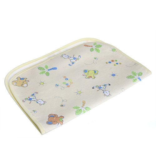 Baby Infant Cover Waterproof Urine Pad Changing Mat Underpad Beige S front-927249