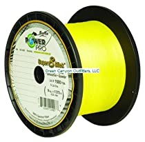 Power Pro Super 8 Slick Braided Fishing Line, 10-Pound/1500-Yard, Yellow