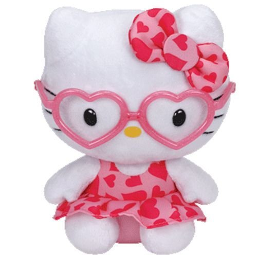Ty Hello Kitty - Pink Glasses