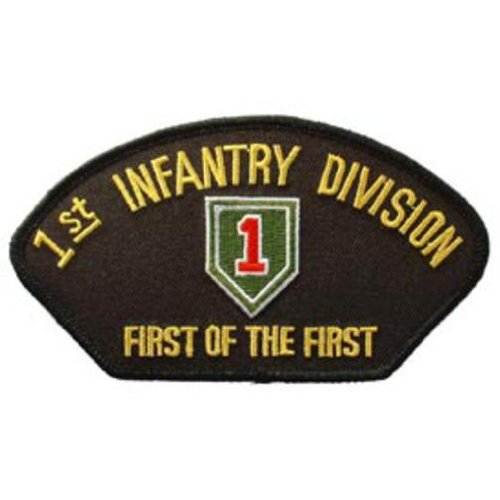 U.S. Army 1st Infantry Division Hat Patch 2 3/4
