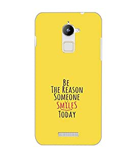 COOLPAD NOTE 3 LITE BE THE REASON Back Cover by PRINTSWAG