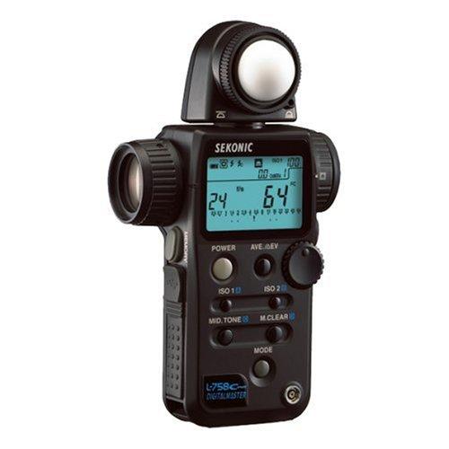 Sekonic Digitalmaster L-758 Cine Digital Light/Flash Meter
