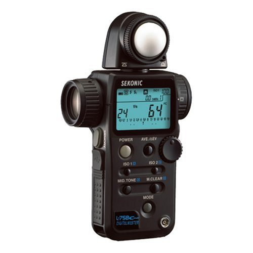 Sekonic Digitalmaster L-758 Cine Digital Light/Flash Meter