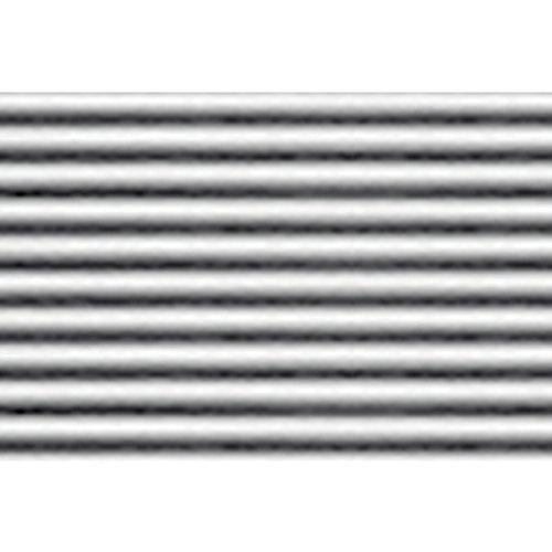JTT Scenery Products Plastic Pattern Sheets: Corrugated Siding, 6.8mm