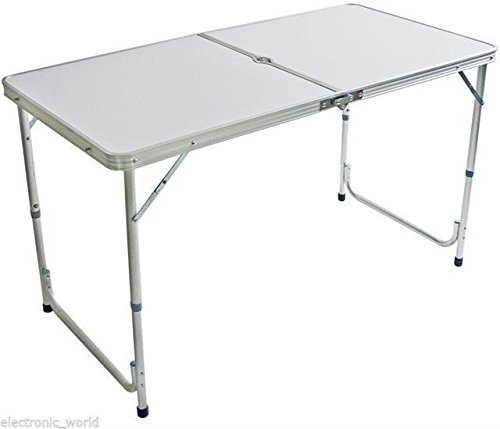 vivo-c-4-foot-aluminium-folding-portable-camping-picnic-party-dinning-table-height-adustable-bbq