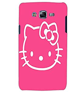 SAMSUNG GALAXY J5 KITTY Back Cover by PRINTSWAG