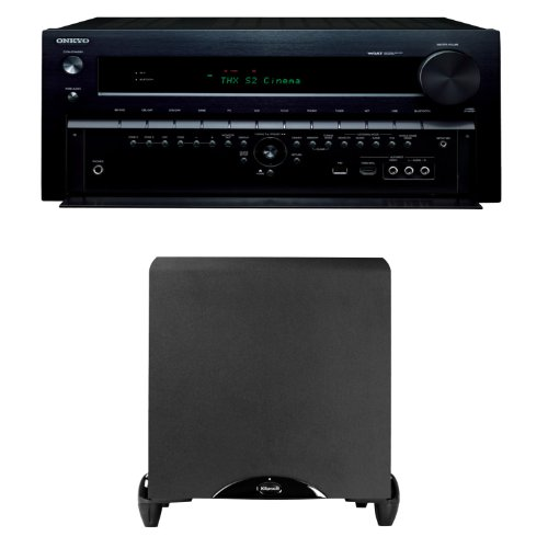 Onkyo Tx-Nr838 7.2 Channel Networking Home Theater Receiver Plus Klipsch Synergy Sub-12 12-Inch Powered Subwoofer