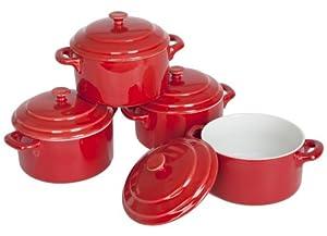 Hell's Kitchen Mini Casserole Dishes, Set of 4