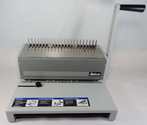 Ibimatic Plastic Comb Binding System