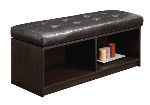 Convenience Concepts 143080 Contemporary Broadmoor Storage Ottoman