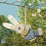 Swinging Bunny Boy - Wall Art and Decorations