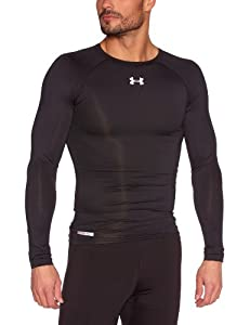 Under Armour Men's HeatGear® Sonic Compression Long Sleeve Small Black