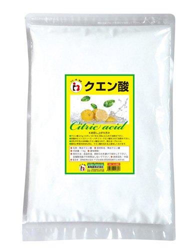 無水クエン酸 1kg 純度99.5%以上 【食品添加物グレード】