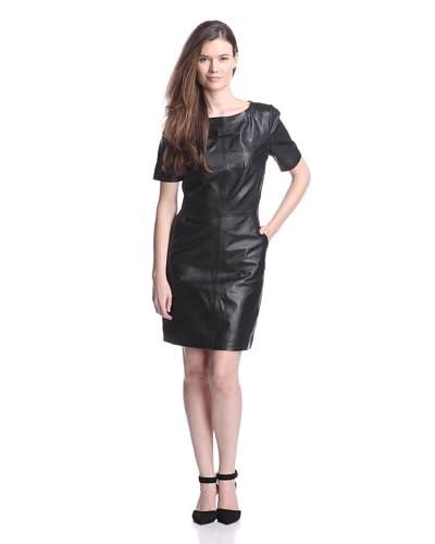 W118 by Walter Baker Women's Candace Leather Dress