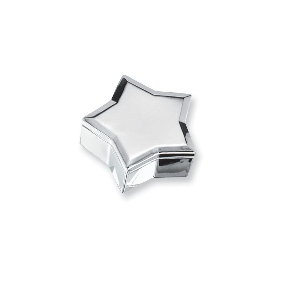 Silver plated Star Jewelry Box