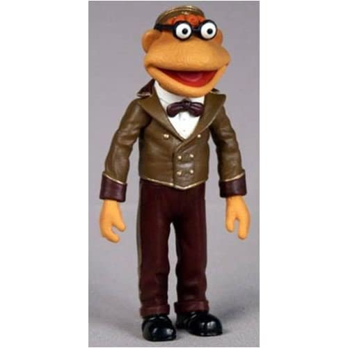 Amazon.com: Muppets Movie Usher Scooter Muppet Figure Series 8