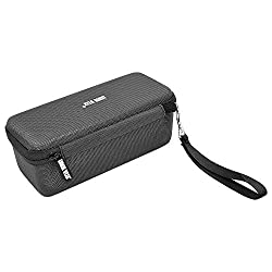 Carrying Case Travel Bag for Bose Soundlink Mini / Mini 2 Bluetooth Portable Wireless Speaker Armor Wear Hard Case - Fits the Wall Charger Charging Cradle. Fits with the Bose Silicone Cover.Black