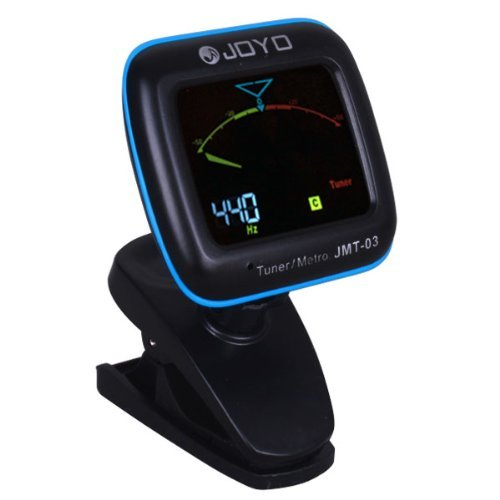 Xiqi Joyo Jmt-03 Clip-On Tuner/Metronome W/Color Display Mic/Clip Tuning Modes