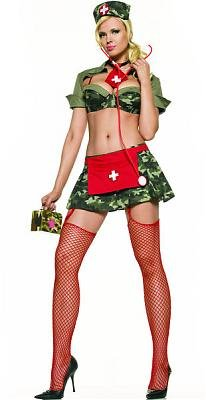 Army Nurse Sexy Costume