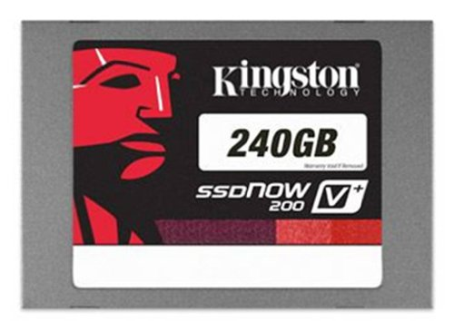 Kingston Digital, Inc. SSDNow V+200 240GB SATA 3 2.5-Inch Solid State Drive with Adapter and Upgrade Bundle Kit (SVP200S3B7A/240G)