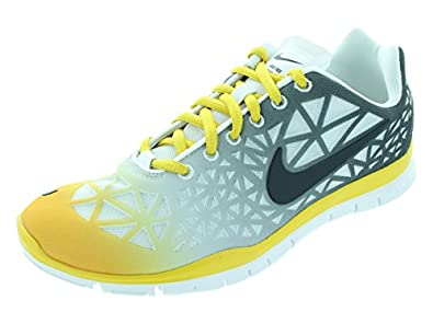 Nike Women's Free Tr Fit 3 Dye White/Anthrct/Vvd Slfr/Strt Gr Training Shoe 9 Women US