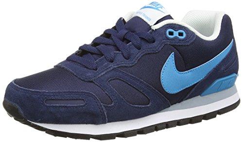 Nike Air Waffle Trainer 429628, Herren Sneaker, Blau (Midnight Navy/Bl Lgn-White-Blk), 47.5 EU