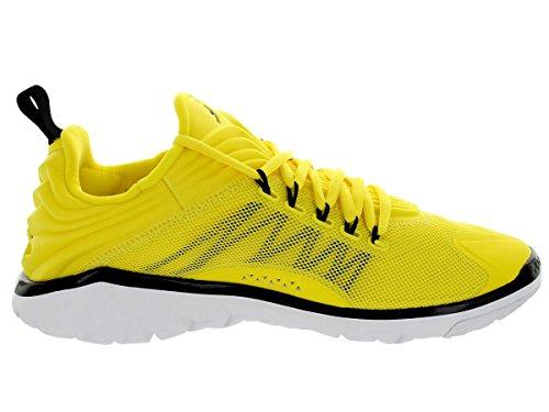 2b79c1ebfe58ec ... Nike Jordan Men s Jordan Flight Flex Trainer Vibrant Yellow Black White  Training Shoe 8.5 ...