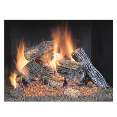 Cheap Sure Heat BRO18NG Sure Heat Burnt River Oak Vented Gas Log Set, 18-Inch, Natural Gas