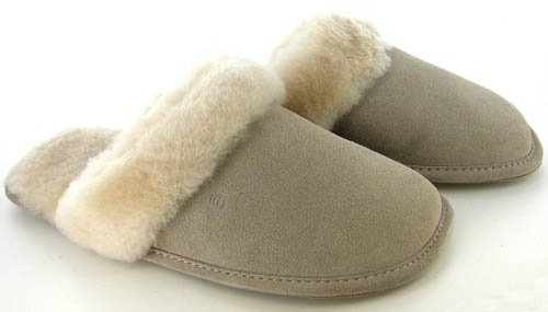 Cheap $40 Bearpaw Scuff Women's Slippers Shoes Sheepskin (BPScuff)