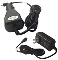 6.5 Feet AC Adapter + Car Charger for Leapfrog LeapPad Leap Pad Ultra, LearReader Lear Reader Reading and Writing System (set of 2) Charger Power Supply