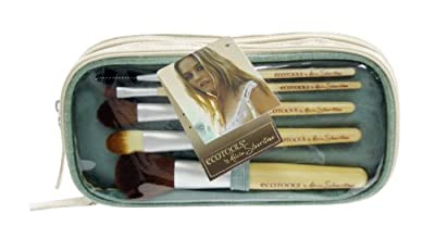 Best Cheap Deal for Ecotools, Alicia Silverstone Brush Set and Bag (Colors May Vary) by Paris Presents Incorporated - Free 2 Day Shipping Available