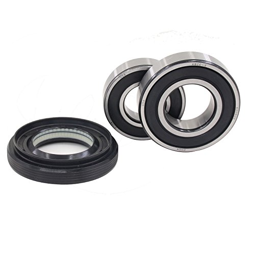 LG & Kenmore 4036ER2003A Kit, Rotating quiet, High speed and Long life. Washer Tub Bearings and Seal Kit. (4280FR4048C + 4280FR4048K + 4036ER2003A) (Kenmore Tub Seal compare prices)