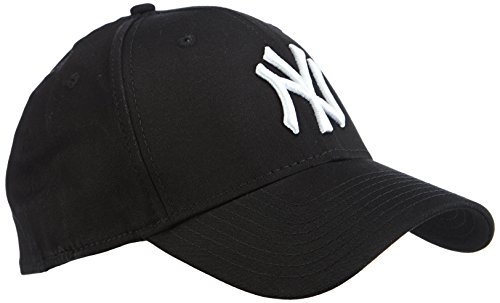 New Era 39Thirty League Basic New York Yankees - Berretto da uomo, colore Nero, taglia L-XL