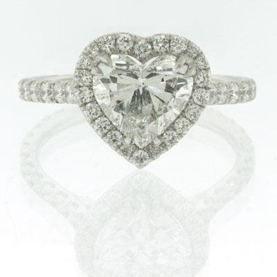 2.52ct Heart Shape Diamond Engagement Anniversary